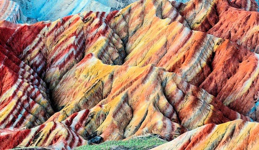 Кольорові скелі Чжан'е Данкс