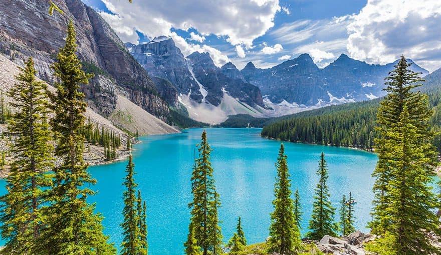 Льодовикове озеро Морейн, Канада