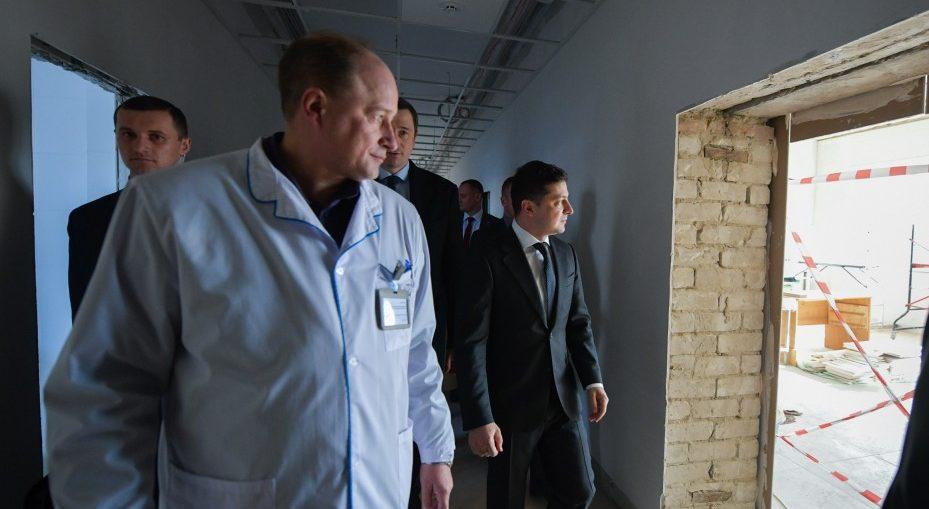 Володимир Зеленський в Борисполі вже вдруге
