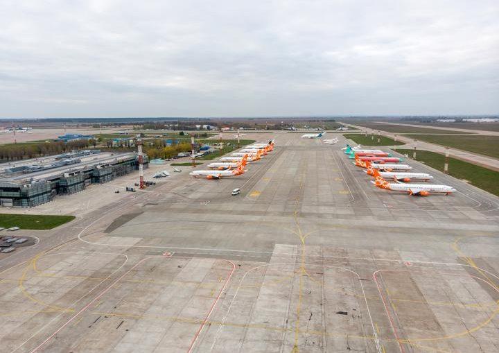 Літаки сумують в Борисполі