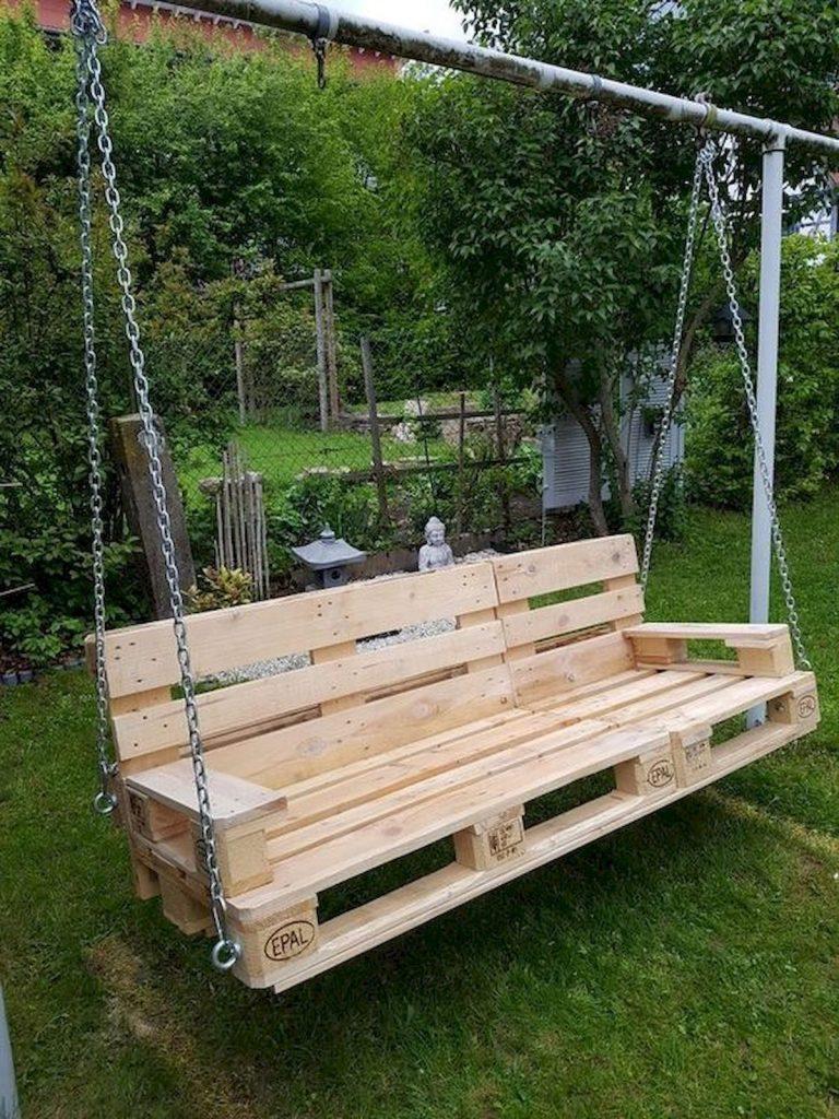 Гойдалки дерев'яних піддонів