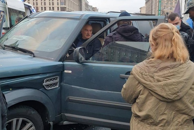 ДТП на Майдані Незалежності