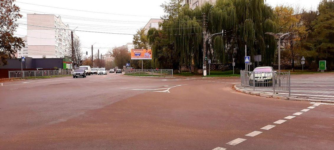 Нові знаки Бориспіль